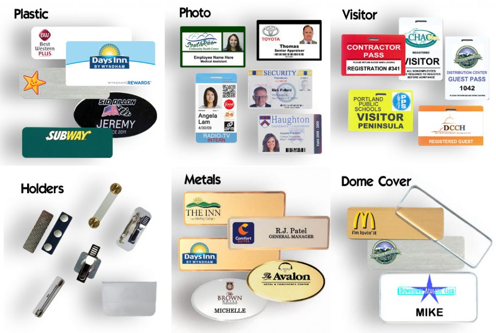 Name Badges and Name Tags