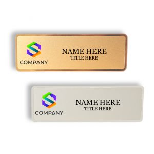 Metal Name Badges