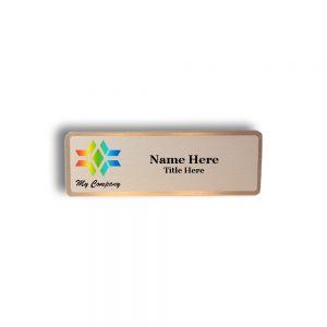 Nickel Name Tags & Badges