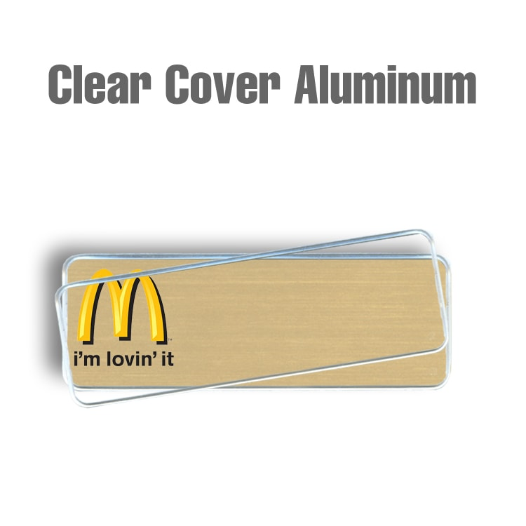 McDonalds Clear Cover Gold
