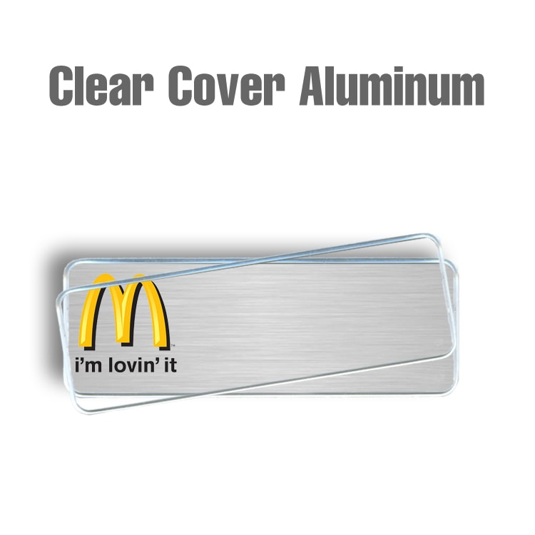 McDonalds Clear Cover Silver
