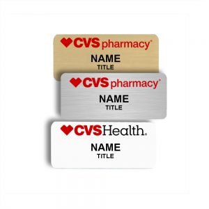 CVS Name Tags and Badges