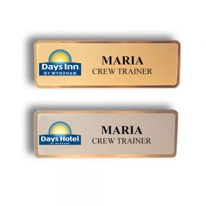 Days Inn Name Tags and Badges
