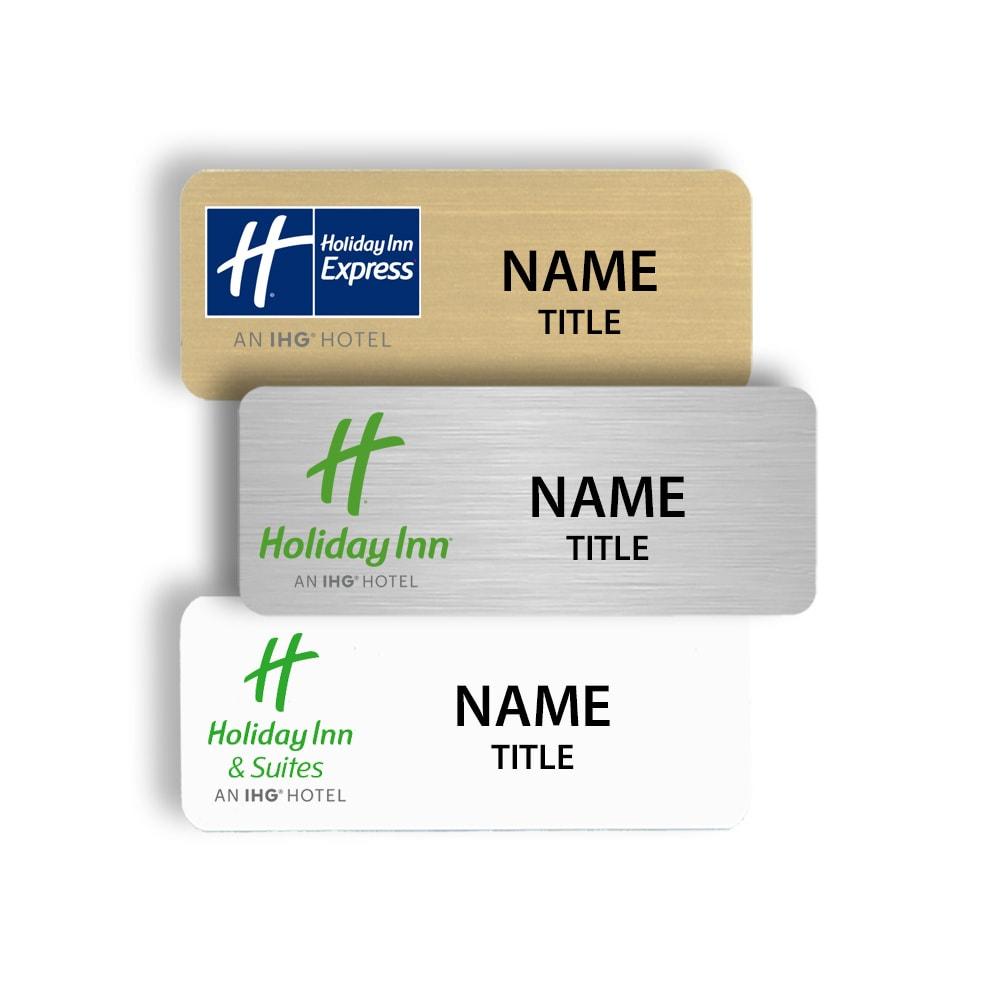 Holiday Inn Name Badges Tags