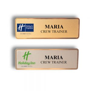 Holiday Inn Name Badges and Tags